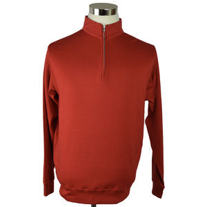 Peter Millar Pullover Small Red Golf 1/4 Zip